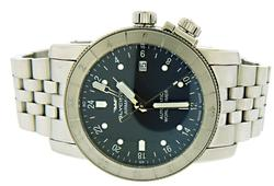 Glycine Airman 42 Auto Blue Dial Watch