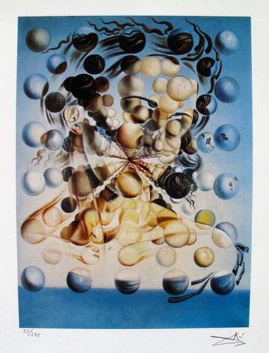 Salvador Dali, Galatea Of The Spheres
