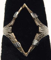 Vintage Filigree Ring Mount