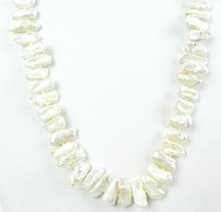 High Luster Natural Mother of Pearl Necklace