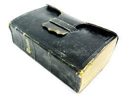 Miniature Civil War Era Leather Bible