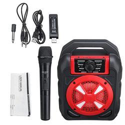 Portable 9W bluetooth Wireless Speaker Colorful Light