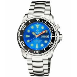 New Mens Deep Blue Pro Diver, Sapphire