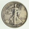 1918-D Walking Liberty Silver Half Dollar - Circulated