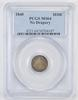 MS64 1840 Seated Liberty Half Dime - No Drapery - Graded PCGS