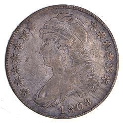 1808 Capped Bust Half Dollar - O-110a - Circulated