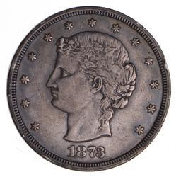 1873 Silver Trade Dollar - J-1281 Pattern