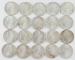 BU ROLL - 1897 Morgan Silver Dollars - Uncirculated