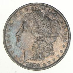 1882-O Morgan Silver Dollar O/S