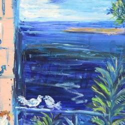 Original Elliot Fallas Oil on Gallery Canvas