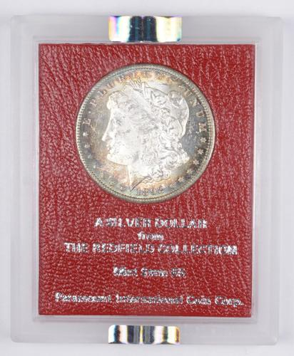MS63 1892-CC Morgan Silver Dollar - Redfield Hoard - Graded NGC