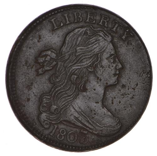1807/6 Draped Bust Large Cent