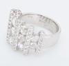 Platinum Diamond Band Style Ring