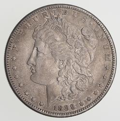 1889-CC Morgan Silver Dollar - Circulated