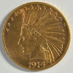 Better date 1914-D US $10 Indian Gold Piece