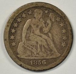 Scarce better date 1856-O Liberty Seated Dime
