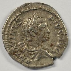 Sharp Caracalla Roman Silver Denarius, 198-211 AD