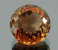 Jaw dropping 8.5ct high fire Imperial Topaz