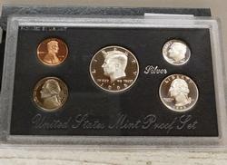 1995 Silver PROOF Set, rare date, w/ Mint Box