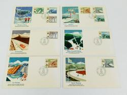 1984 Sarajevo Winter Olympic 1st Day Cover Stamps
