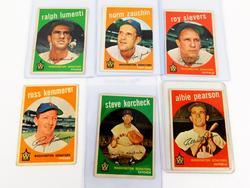6 - 1959 Washington Senators Baseball Cards