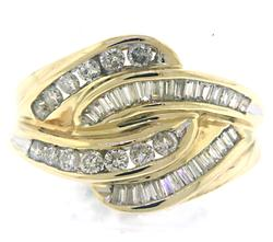 Amazing Bagg & RBC Channel Set Diamond Ring