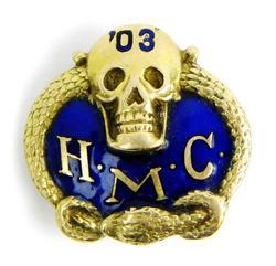Antique 14K Fraternal Order of Police Pin