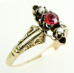Antique 10K Gold Victorian Ring, Size 6