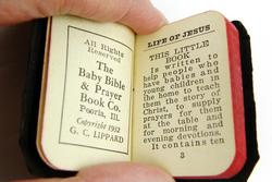 1932 Miniature Baby Bible & Prayer Book