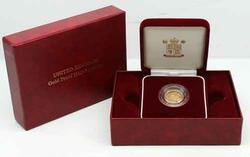 2002 Proof English Half Sovereign With Original Box