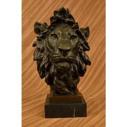 Bust Male LionBronze Sculpture
