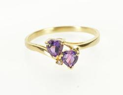 10KT Yellow Gold Amethyst Ring