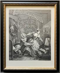 William Hogarth Vintage Engraving