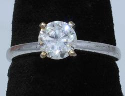 Incredible 0.75CT Diamond Solitaire Engagement Ring