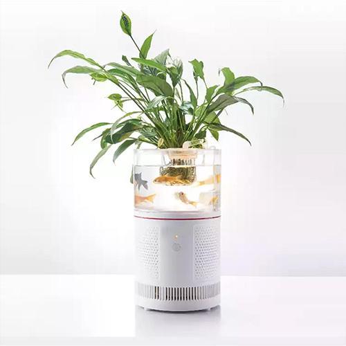 HEPA Desktop Ionizer Air Purifier Aquarium Filter