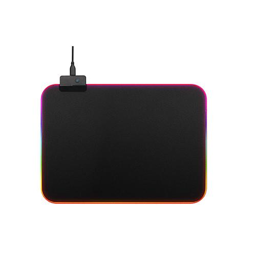 USB Wired Colorful Backlit Non-slip Rubber Mouse Pad