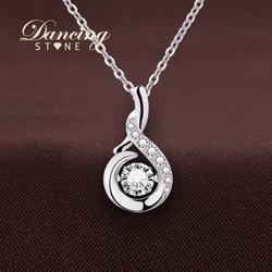 Swarovski Crystal & Sterling Silver Necklace