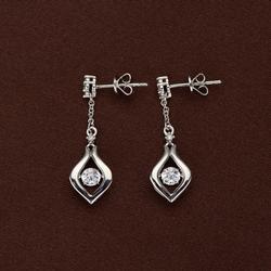 Swarovski Crystal & Sterling Silver Earrings