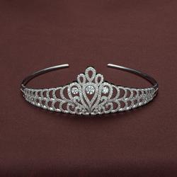Swarovski Crystal & Sterling Silver Tiara