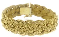 Modern Woven Braid Bracelet