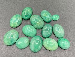 Eye Catching Group of Green Beryl Gemstones