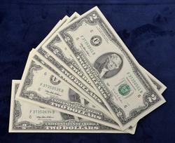 2003 Minneapolis $2 Notes, 60 in Seq