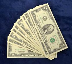40 1995 $2 Bills in Sequence, CU