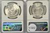 Near Gem 1886 & 1904-O Morgan Silver Dollars. NGC MS64