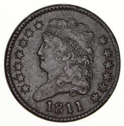 1811 Classic Head Half Cent - Circulated