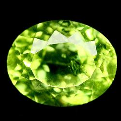 Brilliant 3ct lime green Peridot