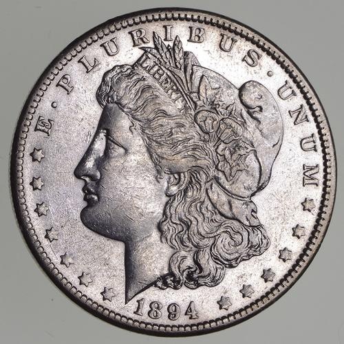 1894-O Morgan Silver Dollar - Circulated