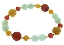Beautiful Multi Color Gemstone Bracelet