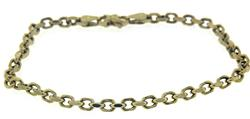 Faceted Cable Chain Bracelet