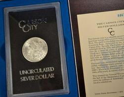 GSA 1884-CC BU Morgan SIlver Dollar